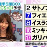 【マイルチャンピオンシップ2016】こじはる(小嶋陽菜)|競馬予想 |3連単5頭ボックスで馬券を仕留めたい!