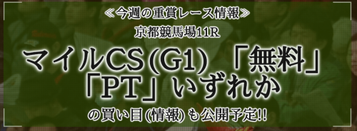 秋陽ジャンプステークス2018予想